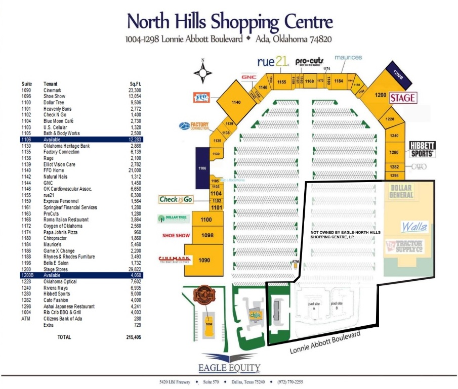 NORTH HILLS SHOPPING CENTRE